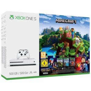 Xbox One S 500GB Minecraft Complete Bundle