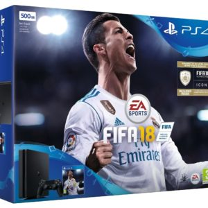 PS4 Slim 500 GB FIFA 18 Bundle