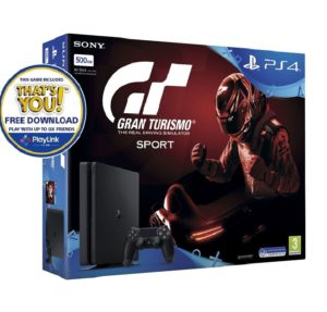 PS4 Gran Turismo Sport Bundle