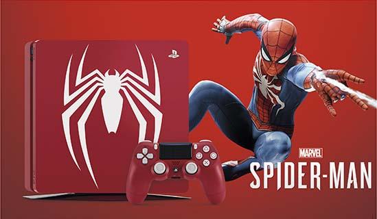 Marvel's Spider-Man Limited Edition Red PS4 Slim