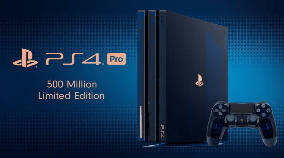 ps4 pro limited edition 500 million sold out
