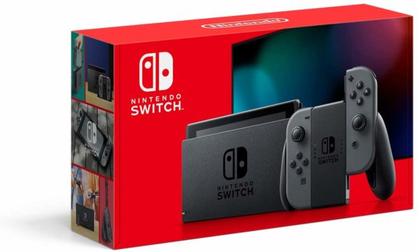 Nintendo Switch New Nintendo Switch with Gray Joy‑Con