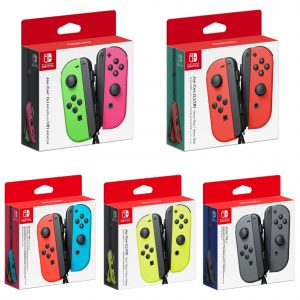 Nintendo Switch Joy-Con Controller Pair - Neon Red/Neon Blue in Dhaka