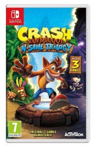 Crash Bandicoot N. Sane Trilogy (Nintendo Switch) in Dhaka Bangladesh