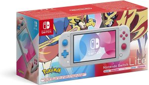 Nintendo Switch Lite Console, special Pokémon Zacian and Zamazenta Edition