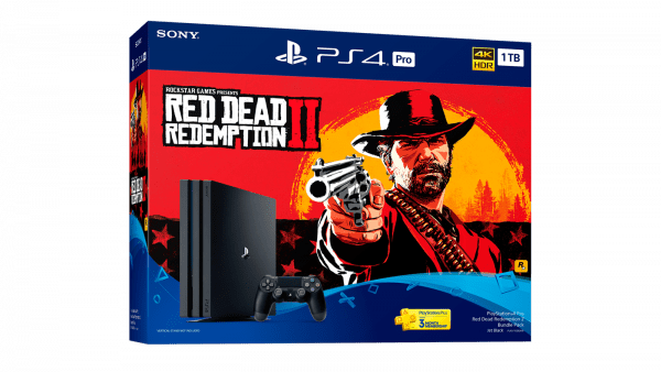 PlayStation 4 Pro 1TB Console - Red Dead Redemption 2 Bundle in BD