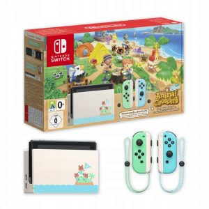 Nintendo Switch - Animal Crossing: New Horizons Edition -32GB Console