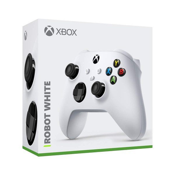 Xbox Core Controller - Robot White for Xbox Series X, Xbox Series S, and Xbox One