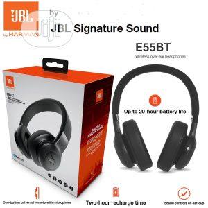 JBL E55BT Over-Ear Wireless Headphones Black in Bangladesh-pxngame