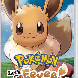 Take a Pokémon journey to the Kanto region with your steadfast partner, Eevee! Become the best Pokémon Trainer as you battle other Trainers, Gym Leaders, and the sinister Team Rocket. Catch Pokémon in the wild using a gentle throwing motion with either a Joy-Con controller or a Poké Ball Plus accessory, which will light up, vibrate, and make sounds to bring your adventure to life. You can also use button controls in Handheld Mode. Share your adventure with family or friends using a second Joy-Con or Poké Ball Plus (sold separately). You can even connect to the Pokémon GO app* using a compatible smartphone to bring over Pokémon originally discovered in the Kanto region! Explore the vibrant region of Kanto—home to beloved characters like Brock, Misty, and the nefarious trio Jessie, James, and Meowth! Throughout the story, your bond with your partner Pokémon grows stronger as you care for it and travel together. See the world in style by customizing Eevee and your Trainer with a selection of outfits. True-to-size wild Pokémon roam around in the game—catch them like a real Pokémon Trainer by using timing and a well-placed Poké Ball. Battle and trade with other players who own the game via local wireless or online**. Go on a stroll with your favorite Pokémon in your Poké Ball Plus to level them up, and to receive in-game rewards after returning them to the game. *Using as a Pokémon GO Plus requires installation of the Pokémon GO application on a compatible smartphone. Game, system and Poké Ball Plus sold separately. *Pokémon GO application, compatible smartphone and persistent Internet access required. Data charges may apply. **Nintendo Switch Online membership (sold separately) and Nintendo Account required for online play. Not available in all countries. Internet access required for online features. Terms apply. ***Using as a Pokémon GO Plus requires installation of the Pokémon GO application on a compatible smartphone.